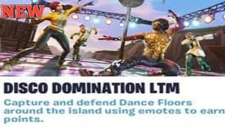 New Disco Domination LTM Coming Soon|Fortnite Battle Royale