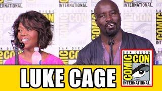 LUKE CAGE Comic Con 2016 Panel Highlights - Marvel Netflix