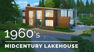 Sims 4  |  Decade Build Series  |  1960s Midcentury Lakehouse