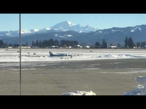 Xxx Mp4 Pilot Stuck In Ice At Abbotsford Airport YXX 3gp Sex
