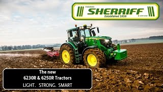 New John Deere 6230 and 6250R tractors - Light, Strong & Smart