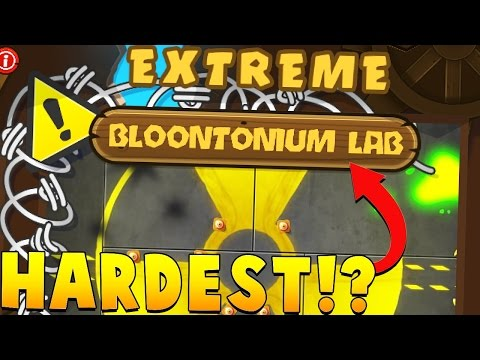 THE HARDEST MAP IN BLOONS HISTORY (YOU WON'T BELIEVE THIS) - BLOONS TOWER DEFENSE 5