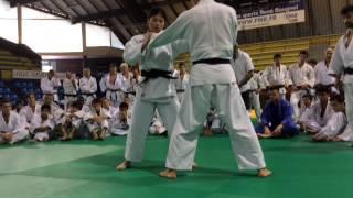 Tomoko Fukumi au stage de Judo de Montpellier