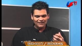 CCM -Cheff Cristo Garza crema pastelera de chocolate