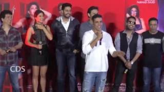 Housefull 3 Comedy Scenes - Akshay Kumar Funny At Song Launch