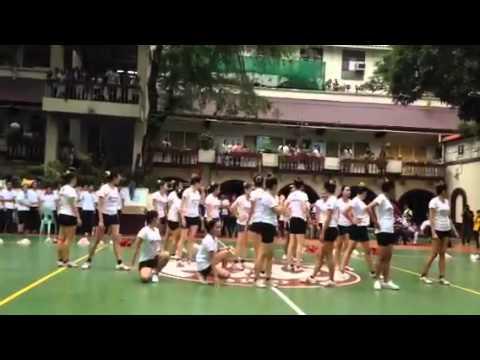 [07/30/14] PWU PATRIOTS PEP SQUAD ALL GIRLS ROUTINE