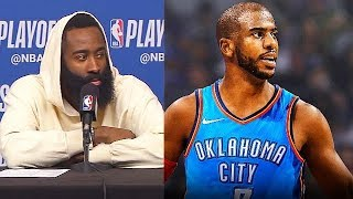 If Only Chris Paul Knew What James Harden Knew