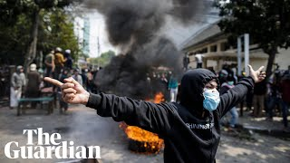 Six killed as Indonesia protests turn deadly