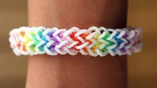 Rainbow Loom Nederlands - Quadzilla || Loom bands, rainbow loom, tutorial, how to