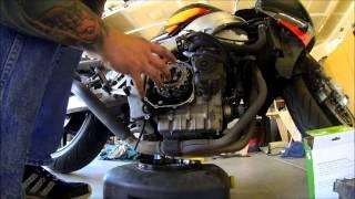 95-99 Honda cbr 900rr clutch installation