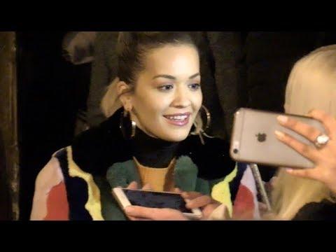 EXCLUSIVE : Rita Ora and Liam Payne leaving C a Vous tv show  in Paris