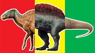 Wrong Heads Dinosaurs! Learn Dinosaur Anatotitan Spinosaurus T-Rex Crying cry Learning Dino Toys.
