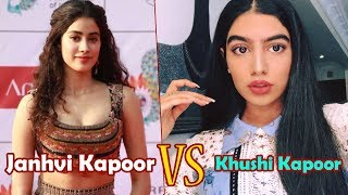 Janhvi Kapoor VS Khushi Kapoor Height,Weight,Age,School