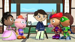 Super WHY! Full Episodes English ✳️  The Boy Who Drew Cats ✳️  S01E44 (HD)