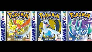 Pokemon Gold / Silver / Crystal (GBC) - Opening Intro & Title Screen Theme - 10 Hours Extended