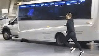 Conor McGregor and his team crashed the bus (FULL VIDEO) Apr 5, 2018