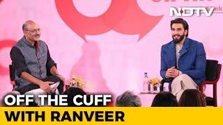 Ranveer Singh Has 'No Issues' Being 'Objectified'