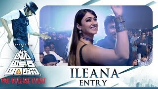 Actress Ileana Entry @ Amar Akbar Anthony Pre Release Event