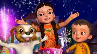 Happy Diwali Song | Telugu Rhymes for Children | Infobells
