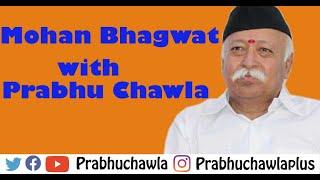 Seedhi Baat Mohan Bhagwat with Prabhu Chawla