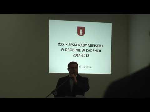 Xxx Mp4 XXXIX Sesja Rady Miejskiej W Drobinie 26 10 2017 Cz 1 3gp Sex