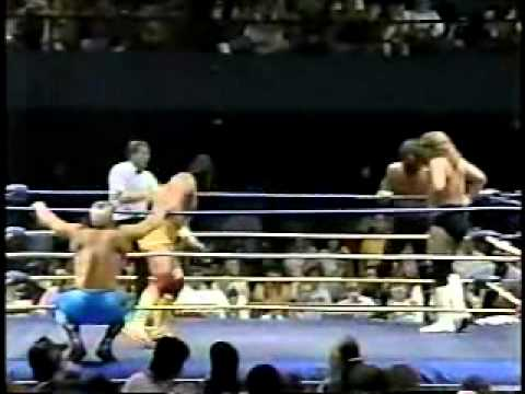 PH 8/4/89- Sting & Dr Death vs Terry Funk & Terry Gordy- Part 1