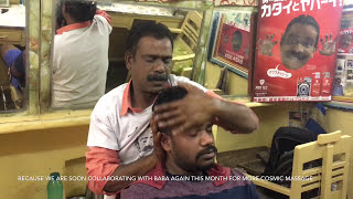 Worlds Greatest Head Massage|Baba Cosmic Barber| Facial Massage (NEW)|ASMR