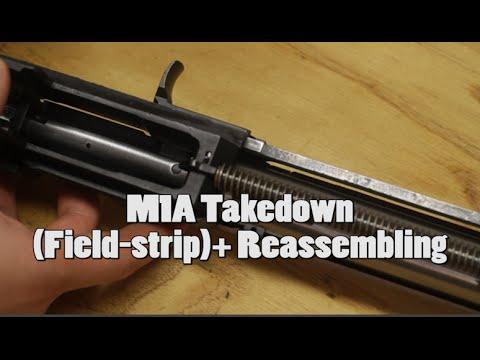 M1A Takedown (Field-strip)+ Reassembling