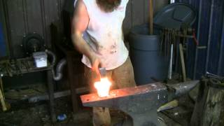 Forging a Stump Anvil Part 3: