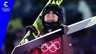Ski Jumping | Men's Large Hill Individual Highlights | Pyeongchang 2018 | Eurosport
