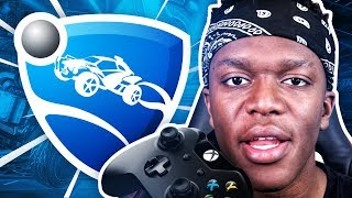 KSI ON ROCKET LEAGUE?!