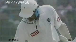 Mohammad Azharuddin 109 (77) vs South Africa (2nd Test) at Kolkata  1996
