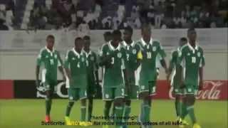 Nigeria U 17 World Cup UAE 2013 Goals and Highlights (FIFA World Cup 2013)