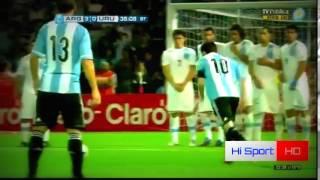 •  Lionel Messi ||  Top 10 Goals - Argentina ||  2005-2014  •