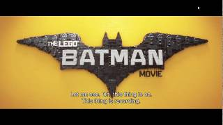 LEGO BATMAN movie ending rap song :  Friends Are Family (2017)