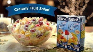 """Creamy Fruit Salad""  NESTLÉ CREAM   Nestlé PH"