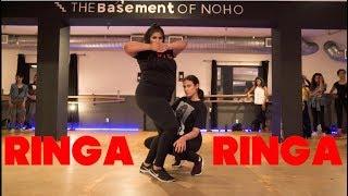 RINGA RINGA (Beyonce Remix)   Chaya Kumar and Shivani Bhagwan Choreography  Bollywood Dance Class