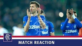 REACTION | Gareth McAuley | Rapid Vienna 1-0 Rangers