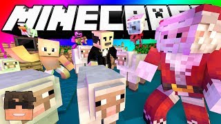 Minecraft Do Not Laugh | EYE CAN SEE THE FUTURE! (SkyDoesMinecraft Do Not Laugh Challenge)
