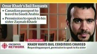 GITMO Torture Survivor Omar Khadr Want Changes To Bail Conditions!