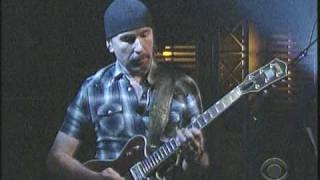 U2  Magnificent Live  Night 2  Letterman