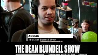 ADRIAN PLAYS WORD ASSOCIATION Q102.1 The Edge DEAN BLUNDELL SHOW.wmv