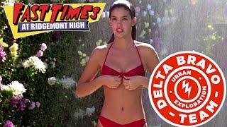 Exclusive: Crashing the Fast Times at Ridgemont High Pool!