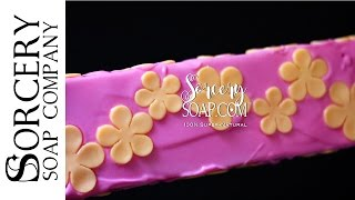Cake Pour of Cold Soap by Sorcery Products™ & Sorcery Soap™