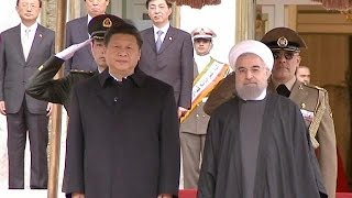 """China hails a """"new season"""" in relations with Iran"""