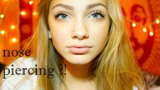 Getting My Nose Pierced + All About It | Hannah Blair
