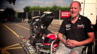 Craig Shreeves - BEng Motorcycle Engineering Student