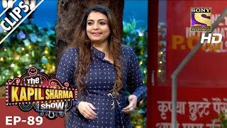 Kapil Sharma Flirting With Vaibhavi Merchant - The Kapil Sharma Show - 12th Mar 2017