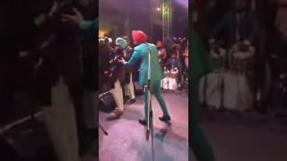 Virat Kohli dance with  Ranjit bawa at Yuvraj Singh weds Hazel  Sangeet ceramony  2016.