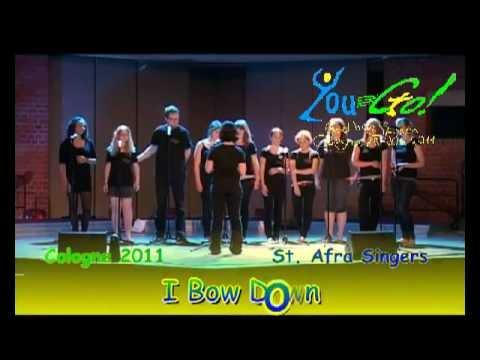 You-Go! 2011-08 - St. Afra Singers - I Bow Down - Gospel Festival.avi